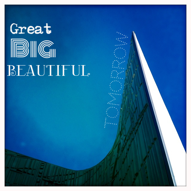 Great Big Beautiful Tomorrow by 2 Miss Mouses