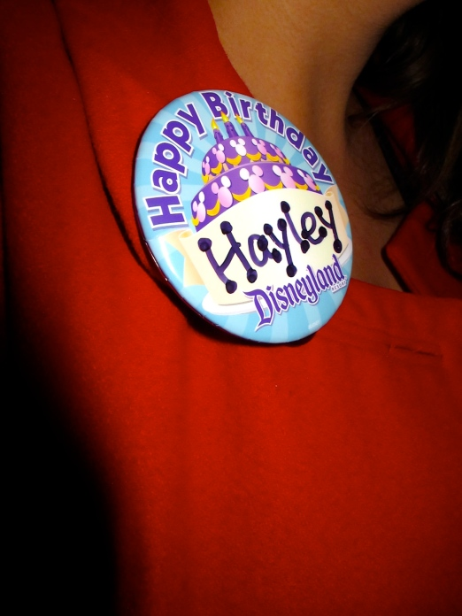 Disney Birthday Pin by 2 Miss Mouses