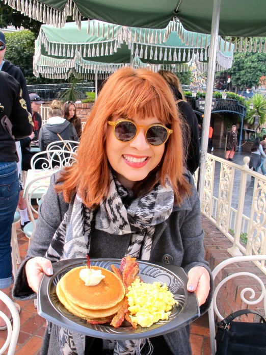 Breakfast @ Disneyland by 2 Miss Mouses