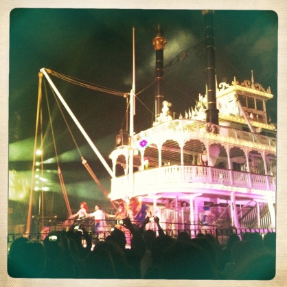 Fantasmic! Mark Twain