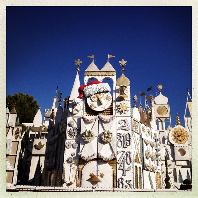 It's a Small World Holiday Overlay by 2 Miss Mouses