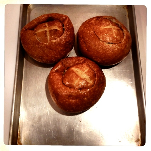Bread bowls by 2 Miss Mouses