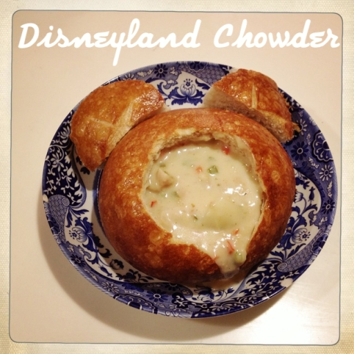 Disneyland Chowder Recipe by 2 Miss Mouses