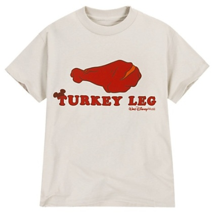 Turkey Leg T-Shirt via 2 Miss Mouses