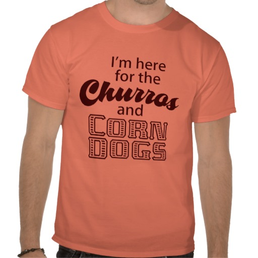 Churro T-Shirt via 2 Miss Mouses