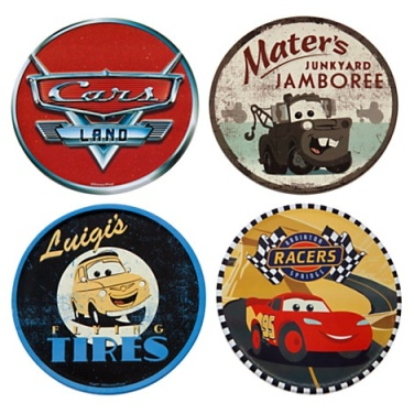 Cars Land Coaster Set via 2 Miss Mouses