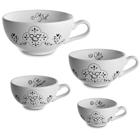 Mickey Mouse Measuring Cup Set via 2 Miss Mouses