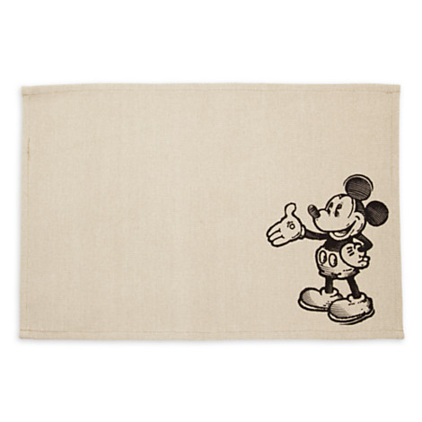Mickey Mouse Woven Placemat via 2 Miss Mouses