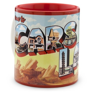 Cars Land Postcard Mug via 2 Miss Mouses