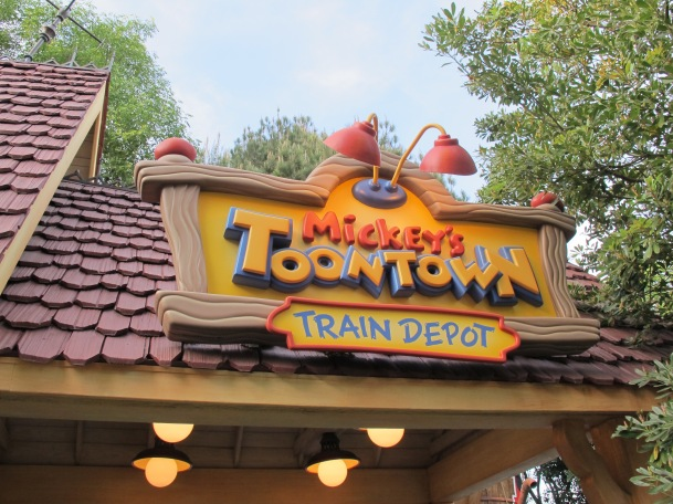 Mickey's Toontown Train Depot