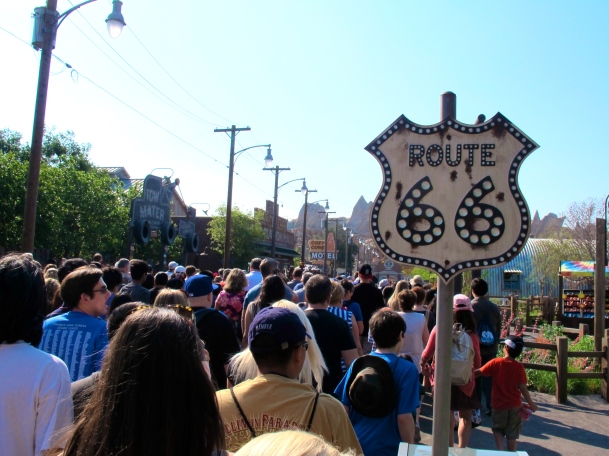 Route 66 Carsland by 2 Miss Mouses