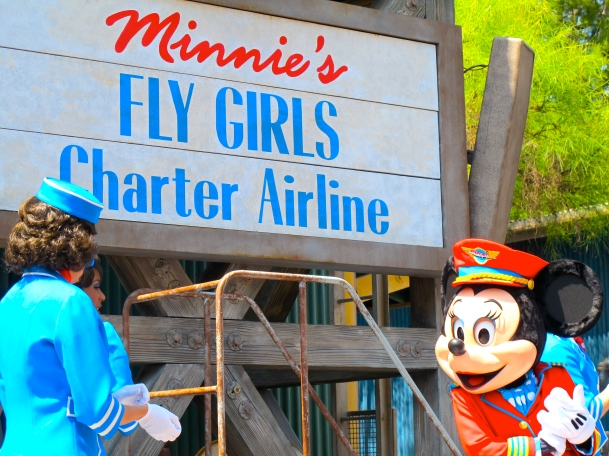 Minnie's Fly Girls at DCA by 2 Miss Mouses