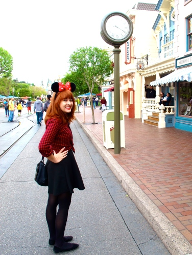 Mouse Ears on Main Street U.S.A.