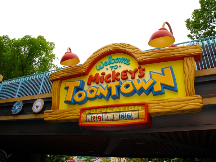 Mickey's Toon Town by 2 Miss Mouses