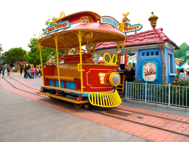 Toontown Jolly Trolley by 2 Miss Mouses