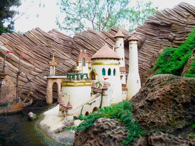 Eric's Castle @ Storybook Land Canal Ride by 2 Miss Mouses