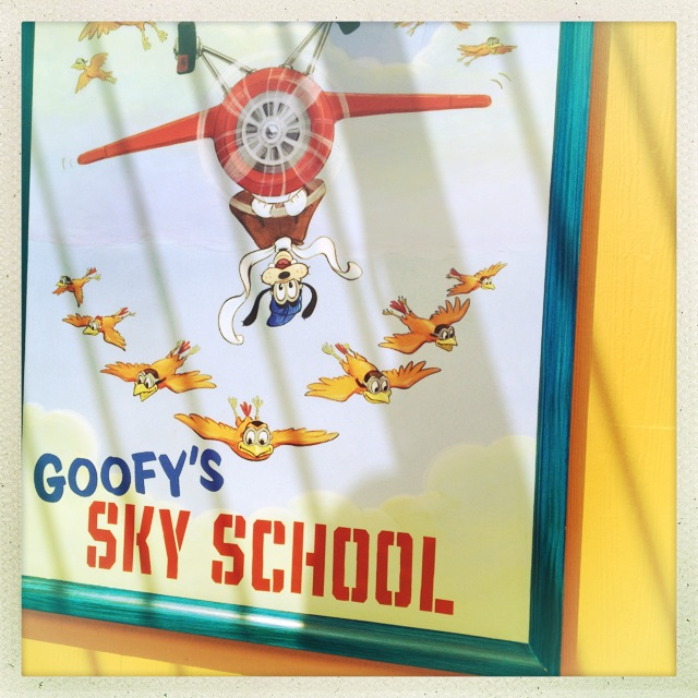 Goofy's Sky School by 2 Miss Mouses