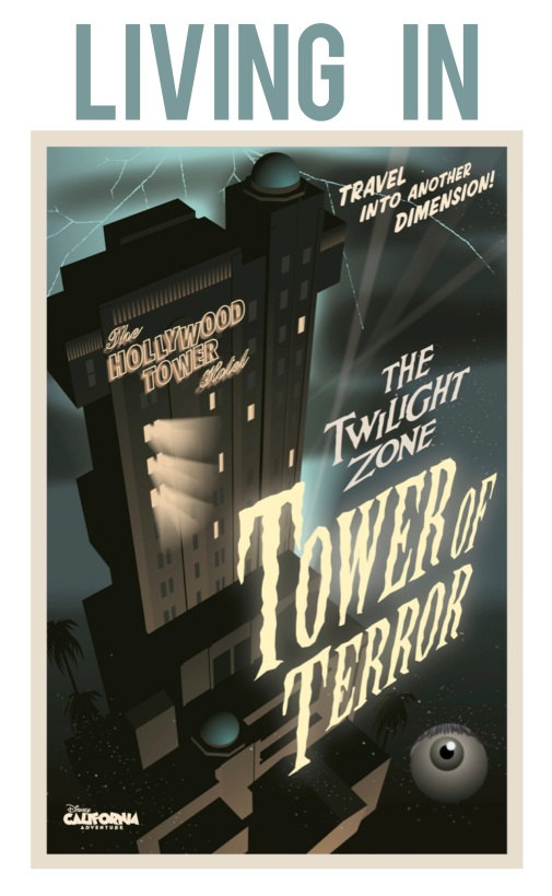 Living in Twilight Zone Tower of Terror by 2 Miss Mouses