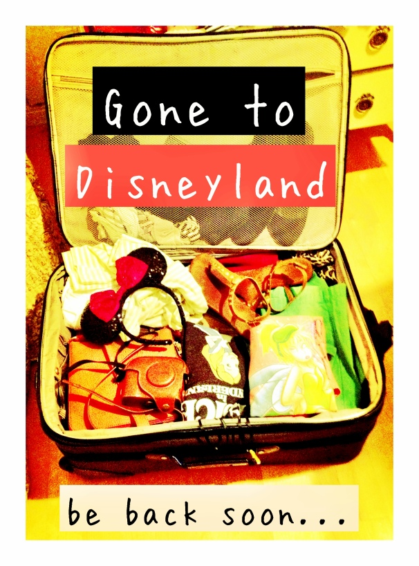 Gone to Disneyland by 2 Miss Mouses