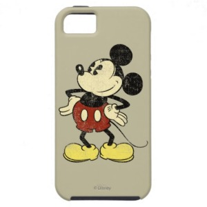 Vintage Mickey iPhone 5 Cover via 2 Miss Mouses