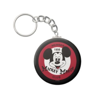 Mickey Mouse Club Keychain via 2 Miss Mouses