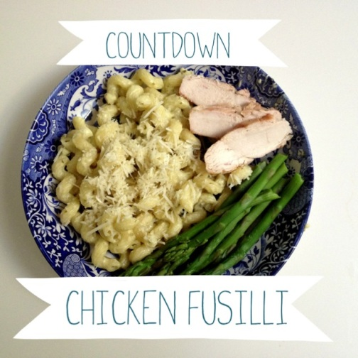 Red Rockett's Chicken Fusilli Recipe by 2 Miss Mouses
