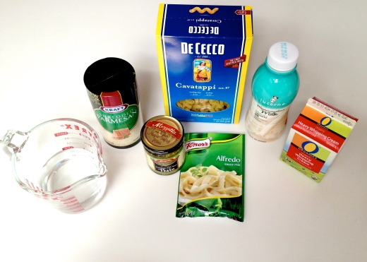 Ingredients for Countdown Chicken Fusilli by 2 Miss Mouses