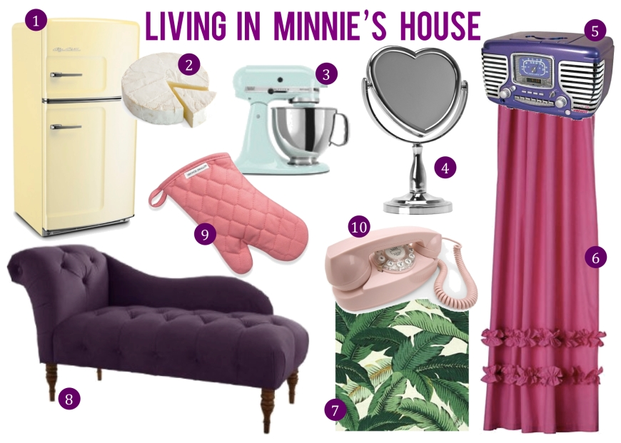 Living in Minnie's House by 2 Miss Mouses