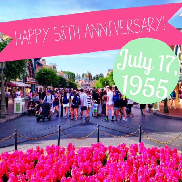 Happy Anniversary Disneyland by 2 Miss Mouses