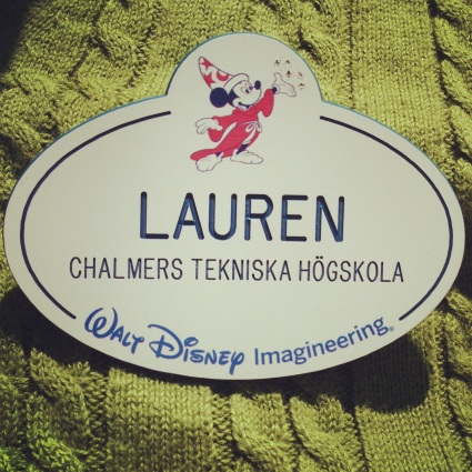 Lauren's Imagineering Badge