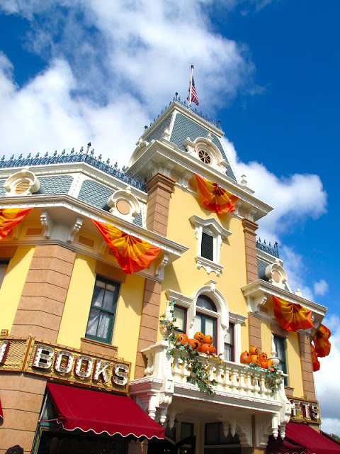 Mainstreet USA in October by 2 Miss Mouses