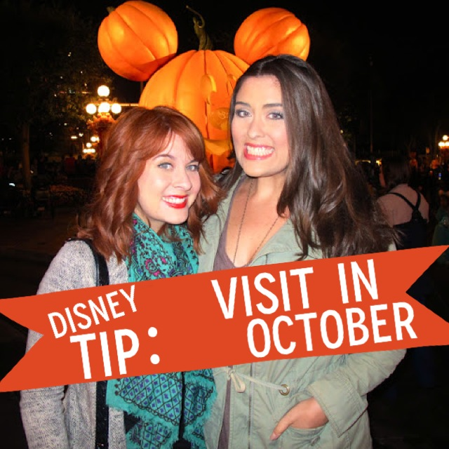 Disney Tip: Visit in October by 2 Miss Mouses