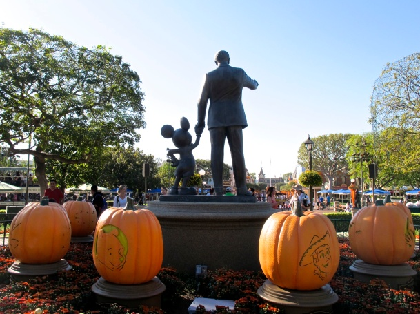 Pumpkins & Walt & Mickey by 2 Miss Mouses