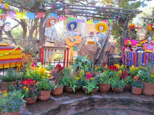 Dia de los Muertos at Disneyland by 2 Miss Mouses