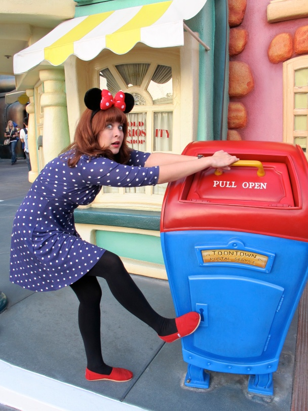 Toon Town Postal Service by 2 Miss Mouses
