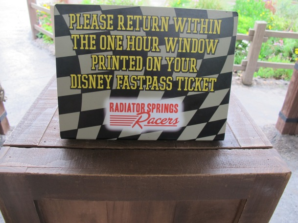 Radiator Springs Racers Fast Pass by 2 Miss Mouses