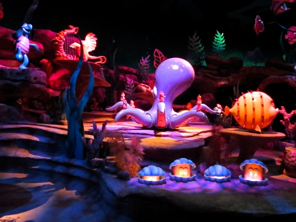 Under the Sea at Disney California by 2 Miss Mouses