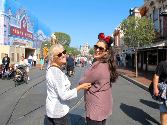 Walking on Main Street by 2 Miss Mouses