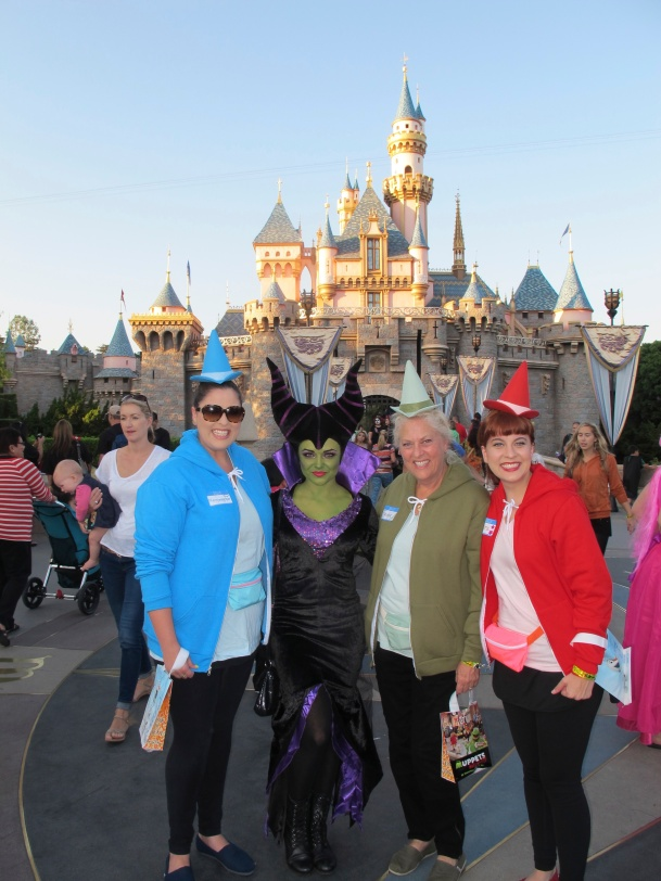Fairies & Malificent at Disneyland by 2 Miss Mouses