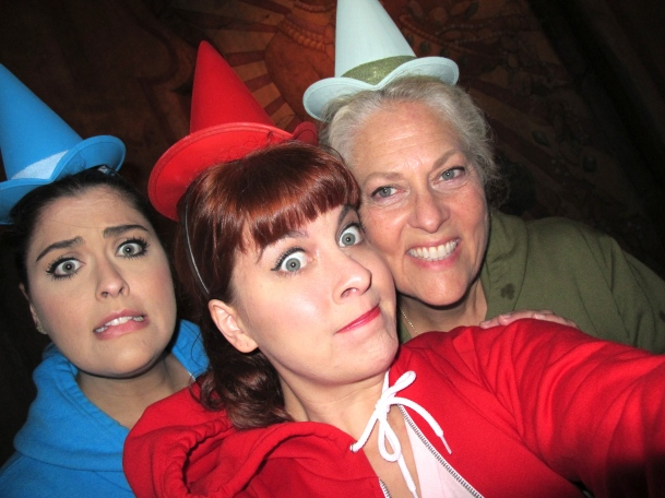3 Fairies on Indiana Jones by 2 Miss Mouses