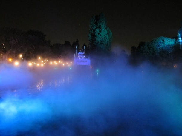 Rivers of America at Halloween by 2 Miss Mouses