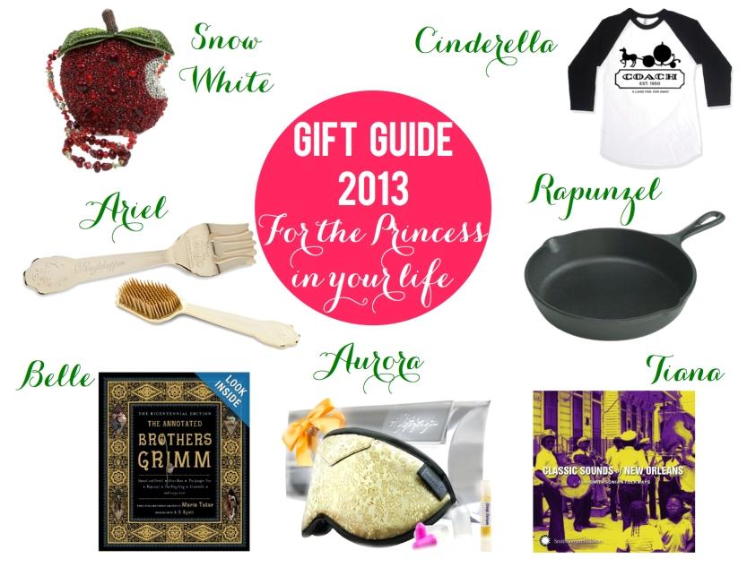 Princess gift guide