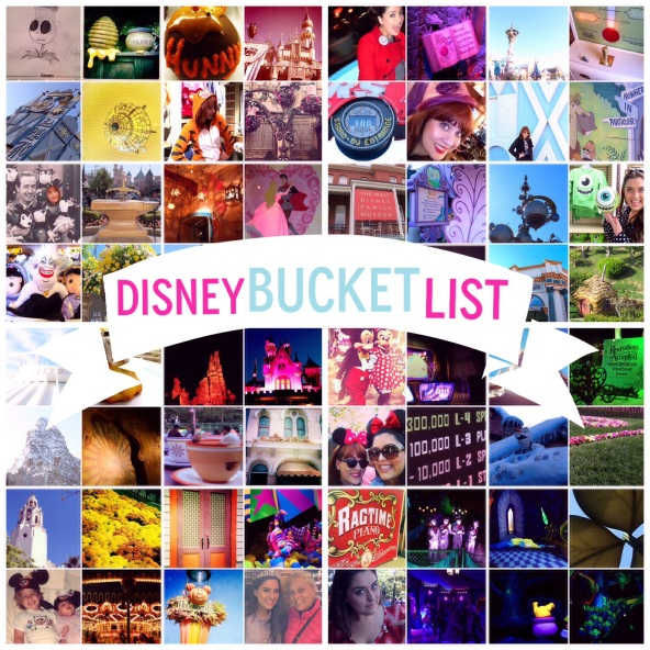 Disney Bucket List by 2 Miss Mouses