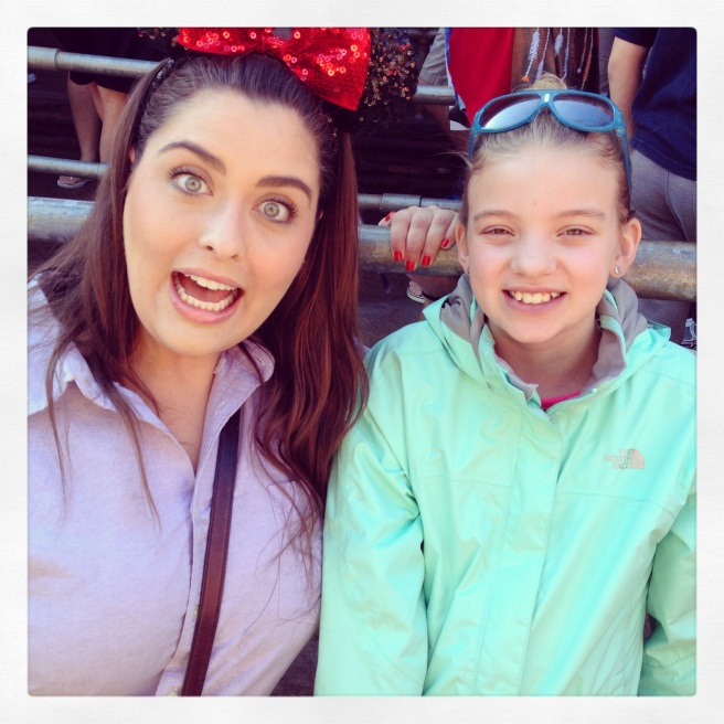 Making Friends at Disneyland by 2 Miss Mouses