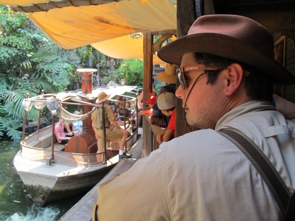 Waiting for Jungle Cruise